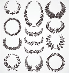 Laurel wreath set