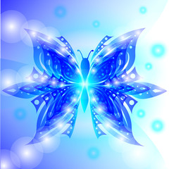 Background Abstract Butterfly Vector