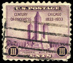 USA - CIRCA 1933 Federal Building