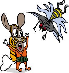 Атаки мухи-мутанта