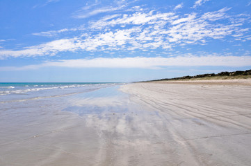 Beach in in Coorong National park, Southern Australia