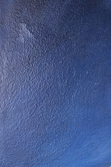 blue abstract brush painting