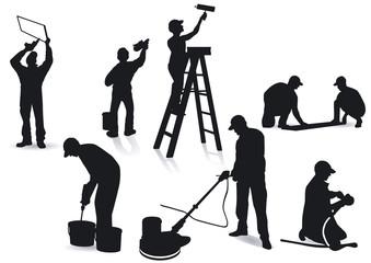 Handwerker und Maler