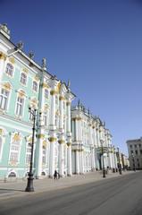Fassade des Winterpalast zum Palastplatz