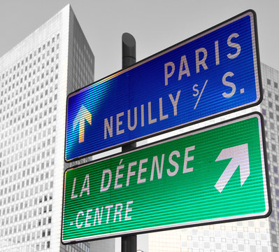 panneau routier Hauts de Seine