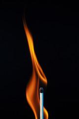 Burning Matchstick