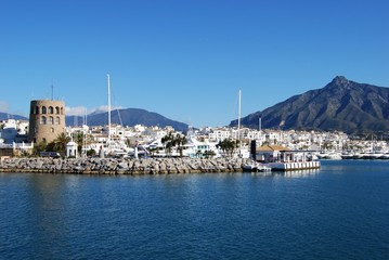 Puerto Banus, Marbella, Spain © Arena Photo UK