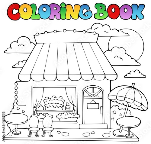 Магазин раскраски для детей