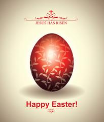 Easter Egg Griting Card