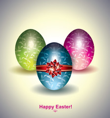 Easter Eggs Griting Card
