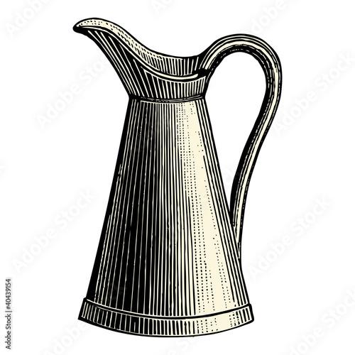 Broc eau fichier vectoriel libre de droits sur la banque d 39 images image 40439154 - Un broc d eau ...