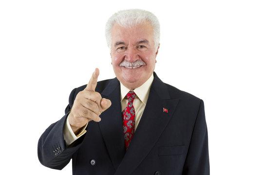 Politician's Finger