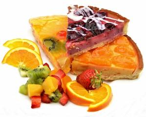 Fototapete - Tartas de fruta