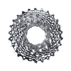 isolated mtb cassette (with clipping path)