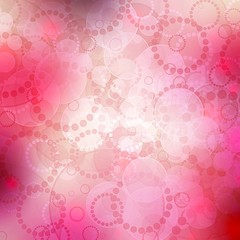 Beautiful background with circle in pink, purple and white