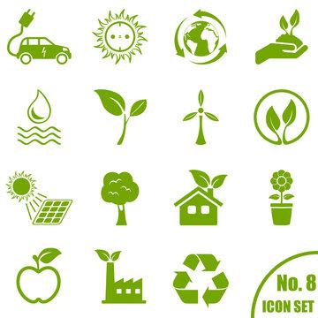 Umwelt - Icon Set