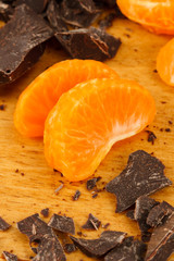 Chocolate and Orange Wedges