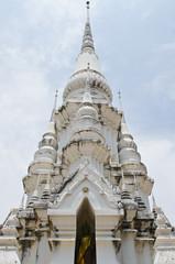 Beautiful pagoda at Wat Khao Kaeo Worawihan temple
