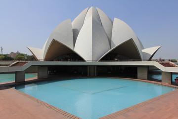 Photo sur Aluminium Delhi Lotus Temple