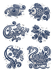 Decorative illustrations2