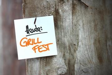 zettl-brettl heute: grillfest I