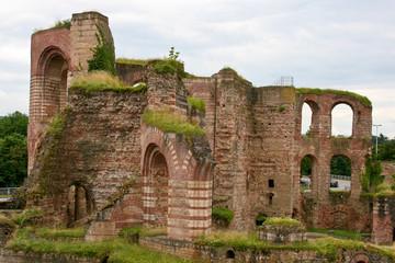 Roman bathhouse, Trier, Germany