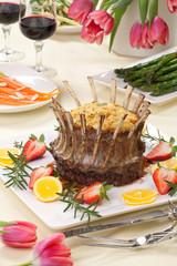 Easter Crown Roast of Lamb