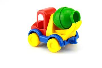 camion de chantier, jouet d'enfant