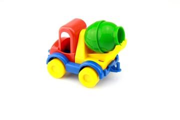 jouet d'enfant, camion de chantier