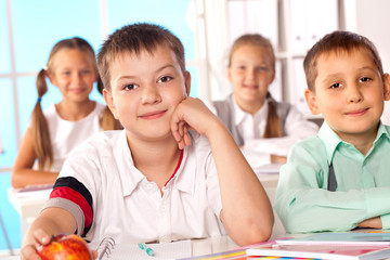 educational process in grade school