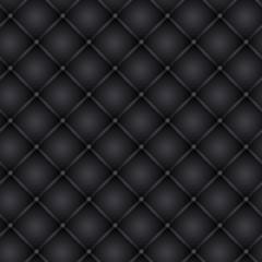 Deurstickers Leder Polsterung grau/blau, nahtlos kachelbar
