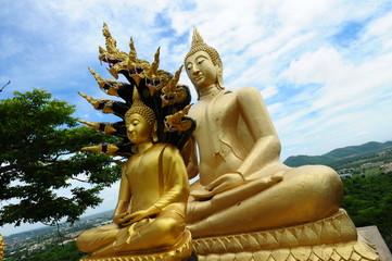 Two Buddha Statue