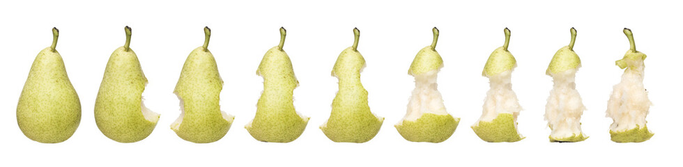 Pear Time Lapse Fotomurales