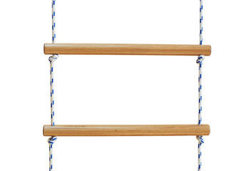 Wooden rope ladder
