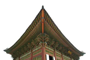 Roof kyongbok palace korea beautiful landscape