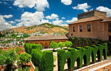 Garden of the Alhambra, Granada, Spain