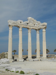 Apollon-Tempelin Side, Türkei