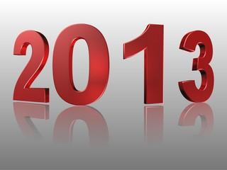 3D Wort rot 2013