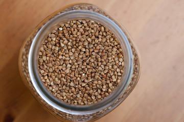 buckwheat, texture
