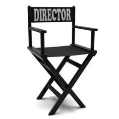 Flim industry: directors chair