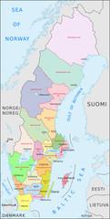 Schweden Administrativ