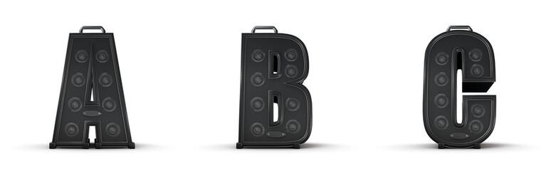 Amplifier alphabet A B C