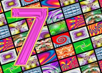Телевидение и интернет технологии. Цифра семь.