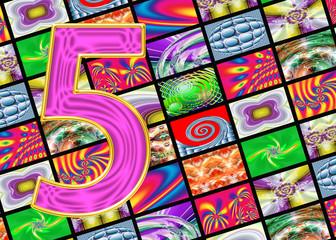 Телевидение и интернет технологии. Цифра пять.