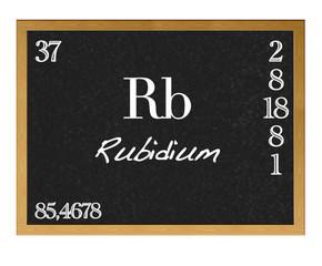 Rubidium.