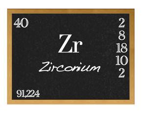 Zirconium.
