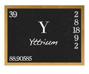 Yttrium.