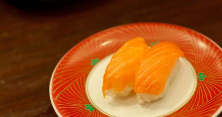 sushi japanese main food