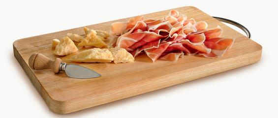 tagliere Parmigiano