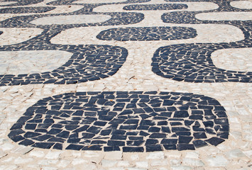 Mosaic of sidewalk Ipanema